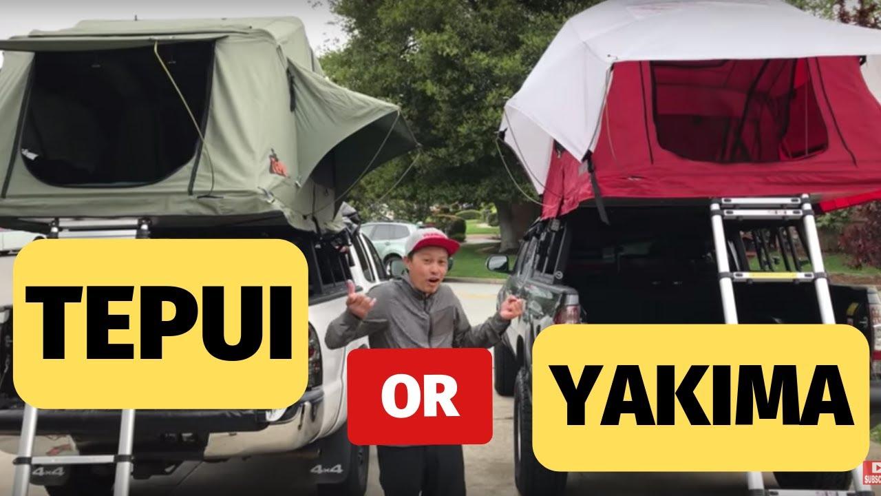 Tepui Vs Yakima Tent Review Youtube