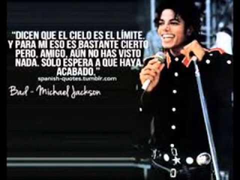 Frases De Michael Jackson Youtube