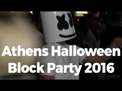 Athens Halloween Block Party 2016