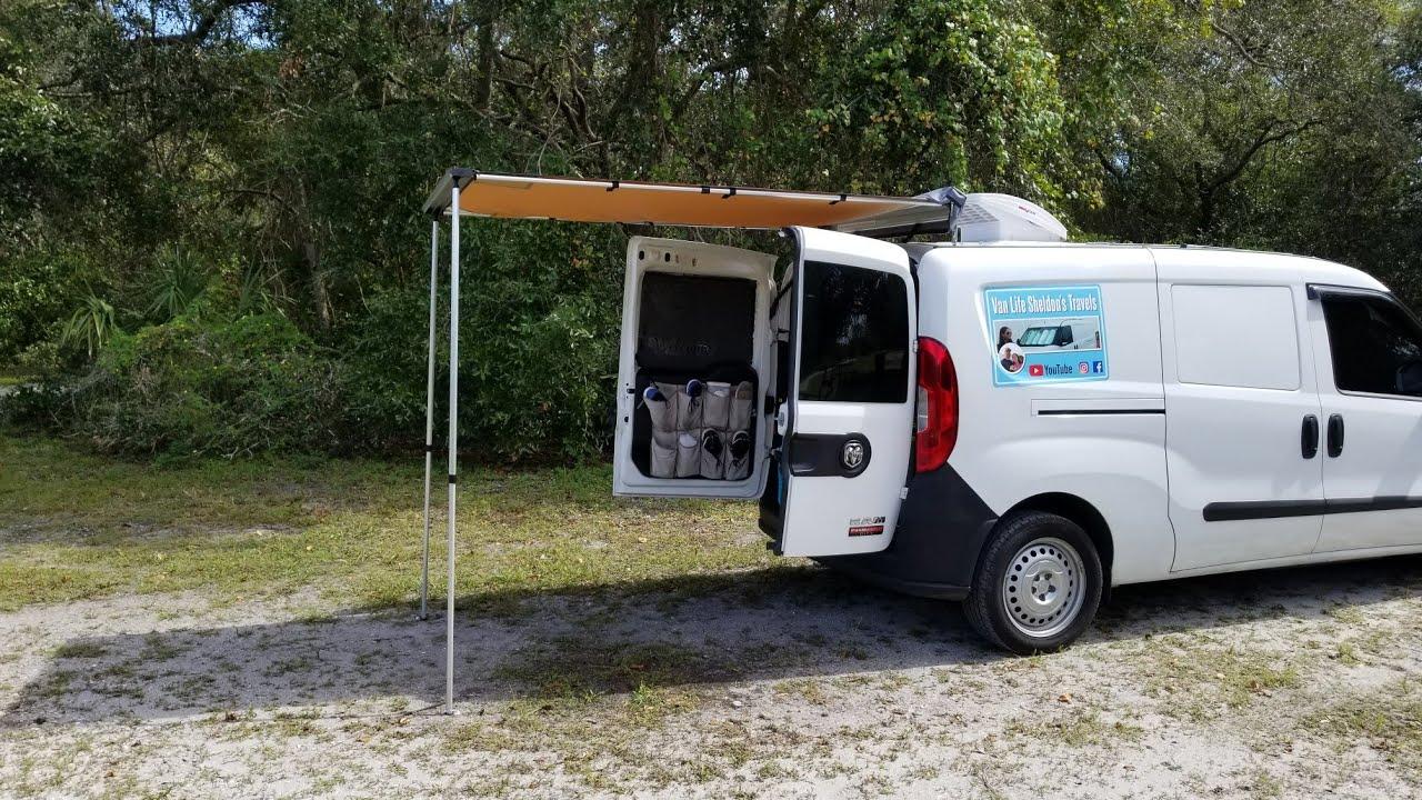 Arb Awning Mounted To Van For 20 Dollars Full Time Van