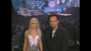 2000 Grammy Christina Aguilera introduce Latin act
