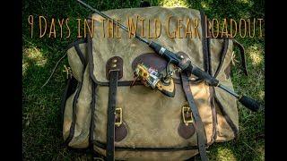 Preparing and Gear for a 9 day, Fly In Canoe Trip in the Boreal Wilderness.