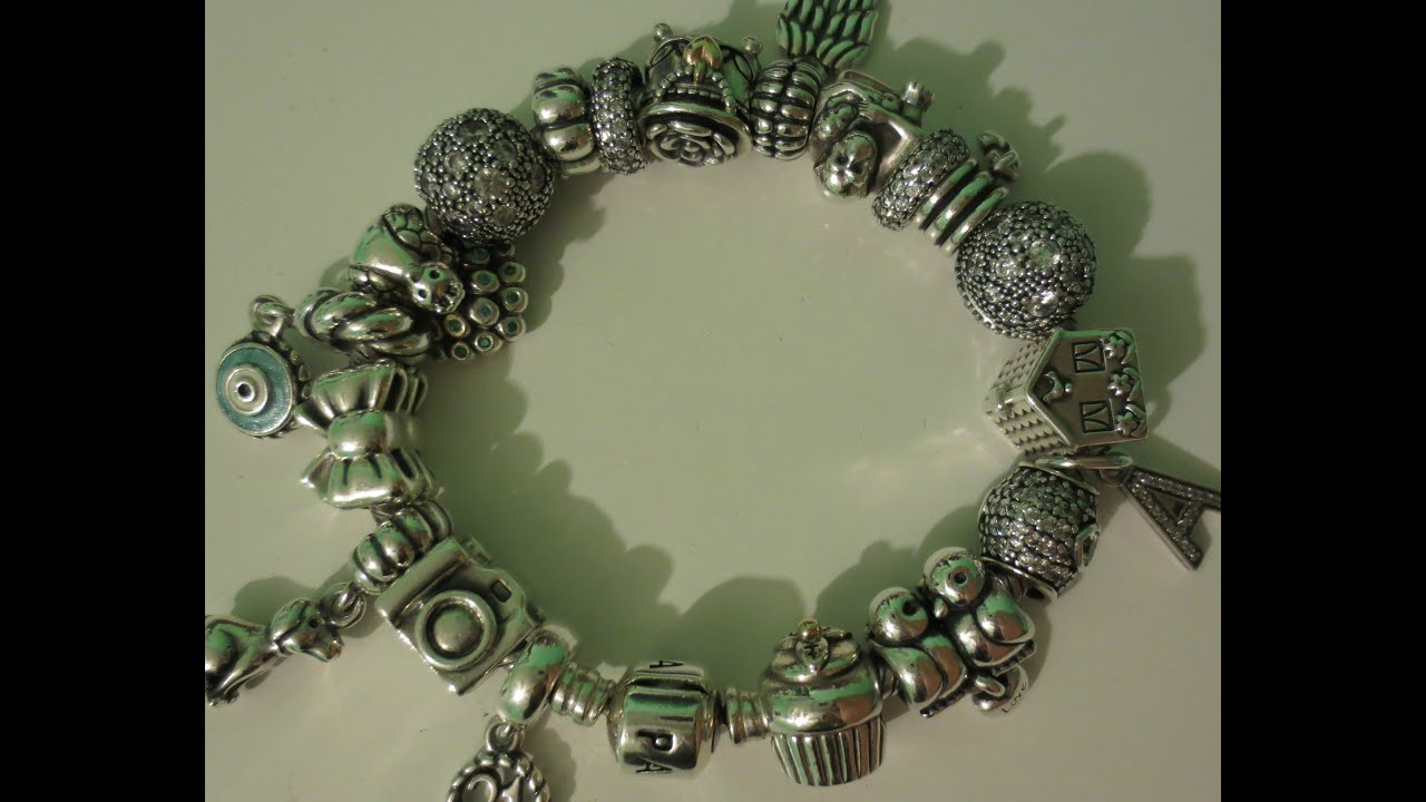 collection watch charm pandora bracelet youtube