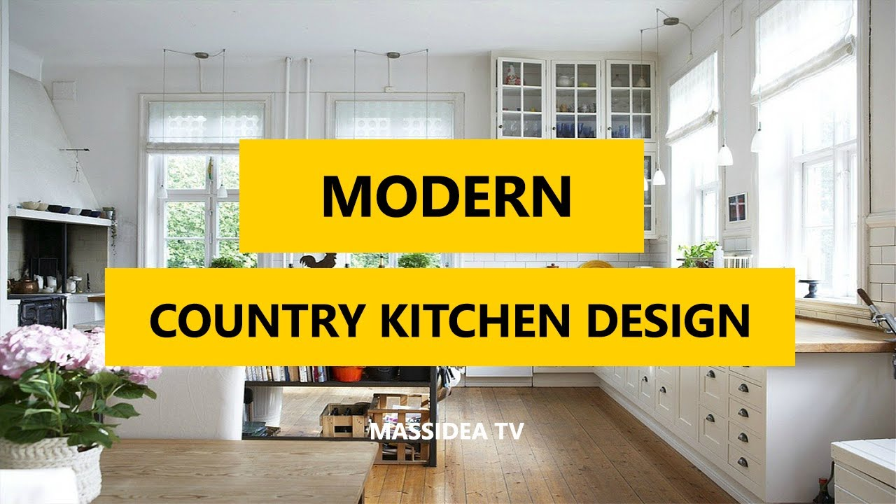 35+ Best Modern Country Kitchen Design Ideas in 2017