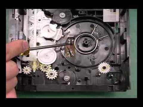 Механизм привода дисков CR16