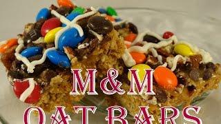 M&m Oat Bars - With Yoyomax12