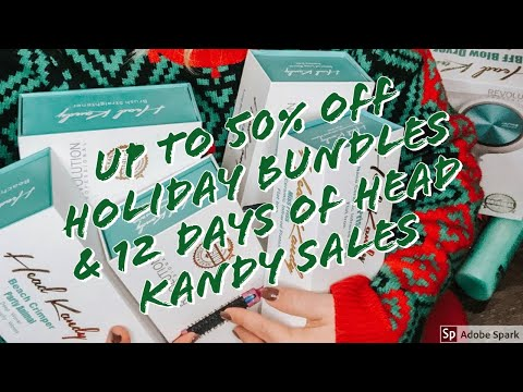 Head Kandy Dec Holiday Sale Square