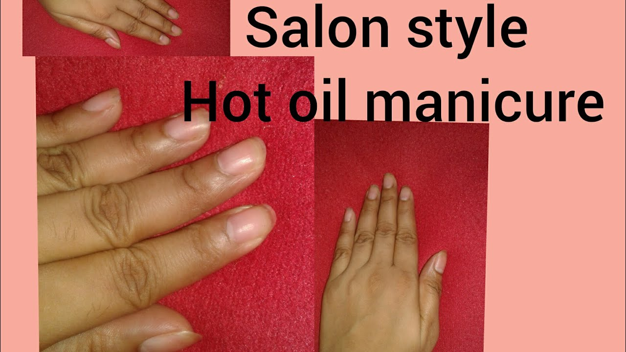 Hot manicure at home 95