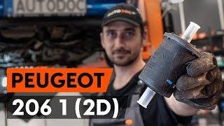 Come sostituire filtro carburante PEUGEOT 206 1 (2D) [VIDEO TUTORIAL DI AUTODOC]