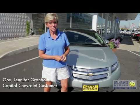 "Jennifer Granholm 2011 Chevy Volt - ""This is about energy independence"""