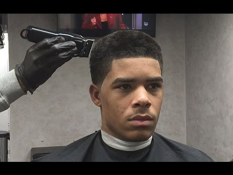 AFRO TAPER HAIRCUT - ASHY TO CLASSY