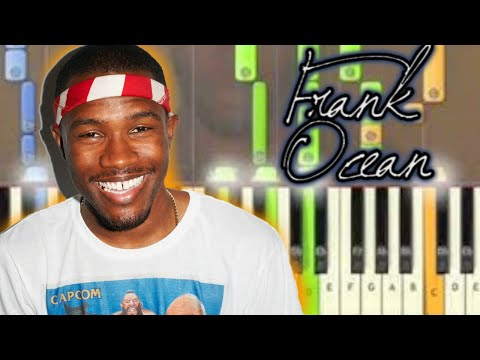 Learn How To Play Frank Ocean Thinking Bout You Piano