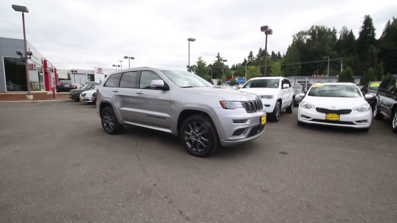 2018 jeep overland high altitude. modren overland 2018 jeep grand cherokee high altitude 4x4  billet silver metallic  jc104281 redmond seattle intended jeep overland high altitude