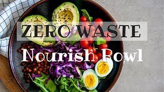 Zero-Waste Vegetarian Nourish Bowl