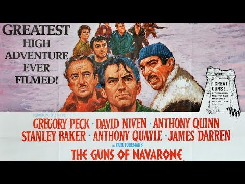 THE GUNS OF NAVARONE (1961), Gregory Peck, David Niven, Anthony Quinn - #FILMTALK REVIEW