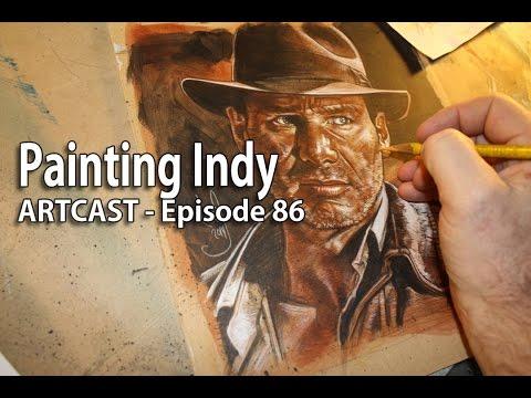 Artcast #86 Painting Indy