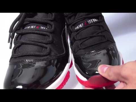 GS (Kids) Air Jordan 11 (XI) Black Red - Bred 2012