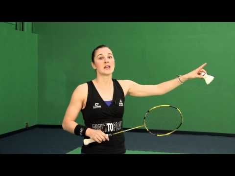 how to smash in badminton harder
