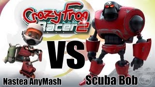 BobPlay:Crazy Frog Racer 2  - Scuba Bob vs Nastea AnyMash