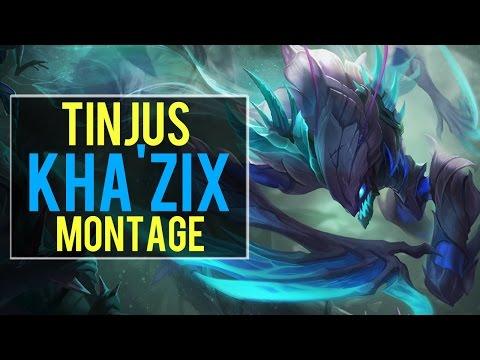 Kha'Zix Montage ( Tinjus )   Best Kha'Zix Plays [IRIOZVN]