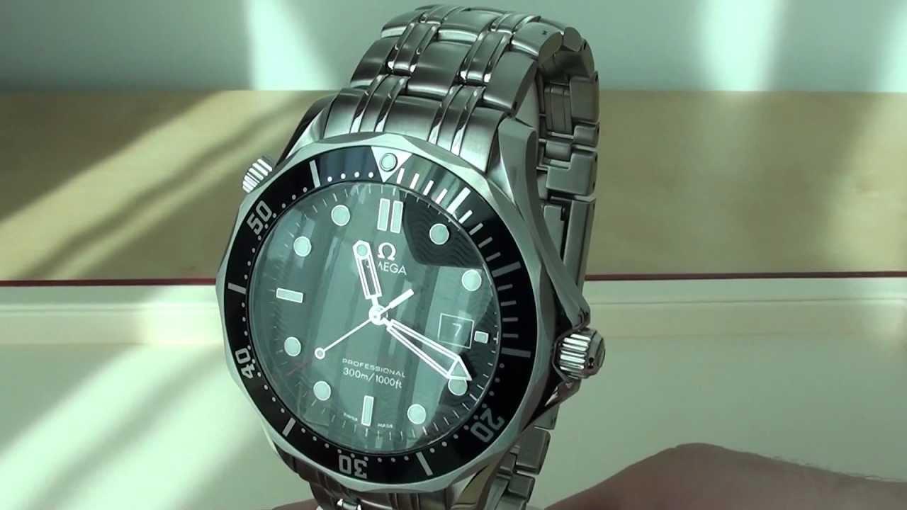 Omega Seamaster 300m Quartz Black 212 30 41 61 01 001 Review