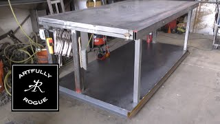 Tilting & Extendable Welding Table Build