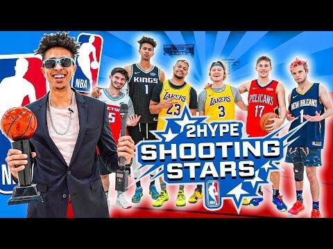 2HYPE 2020 NBA Shooting Stars Basketball Challenge!