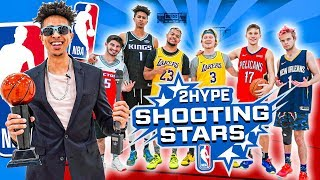 2HYPE 2020 NBA Shooting Stars Basketball Challenge!