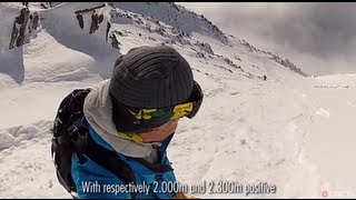 Extreme Snowboarder Roch Malnuit Slaying Steep Lines in Chamonix