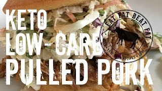 Keto Pulled Pork - by @eatfatbeatfat