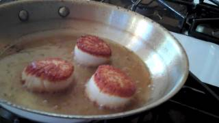 Pan-Roasted Jumbo Scallops: Cooking The French Laundry