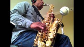 Gloria Estefan - Words Get In The Way - (saxophone cover)