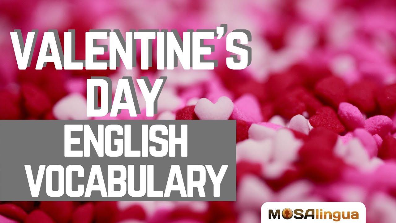 Valentine's Day English Vocabulary