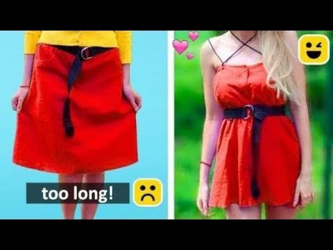 [VIDEO] - Awesome Summer Stylish DIY! Outfit Hacks Ideas You Need Try 2