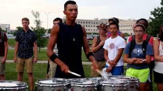 Bluecoats 2015 Drumline - Flam Jam thumbnail