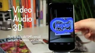 QR Code reader now in Layar AR mobile app