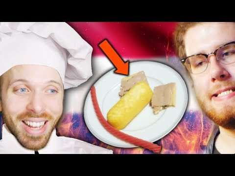 EUROPEANS TRY AMERICAN SNACKS!! (w/ masta chef Embibino)