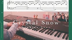 BTS - Crystal Snow Piano Cover