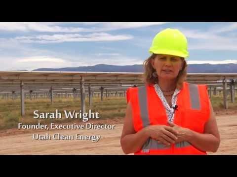 Utah Clean Energy Solar Plant Tour