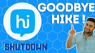 GOODBYE Hike ! You Will Be Missed..  Shutdown Announced & Closing ( Hindi ) screenshot 4