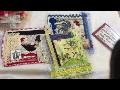Part #1 Copy your creations! Fabric arts/Paper.arts, slow stitching