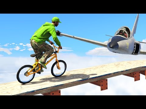 IMPOSSIBLE TIGHTROPE CHALLENGE! (GTA 5...
