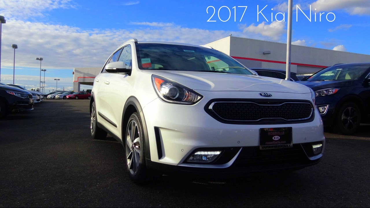 2017 kia niro touring 1 6 l 4 cylinder review youtube. Black Bedroom Furniture Sets. Home Design Ideas
