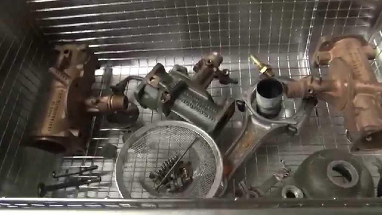 Testing New Tool 101 Ultrasonic Cleaner Dsa800se Gl2 30l