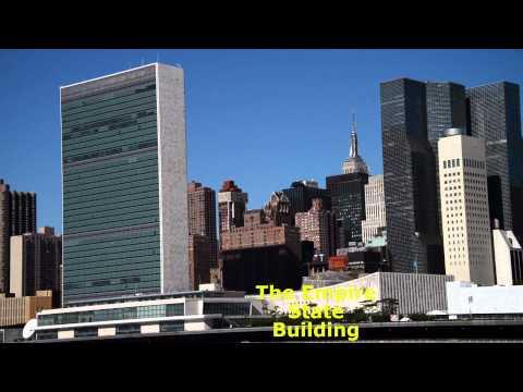 New York City - Manhattan Panorama From Roosevelt Island