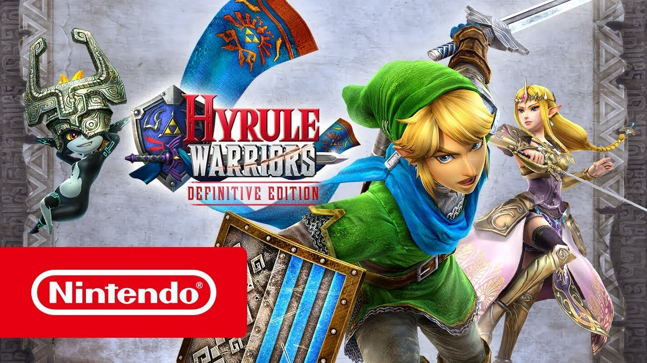 Hyrule Warriors Definitive Edition Launch Trailer Nintendo Switch Youtube