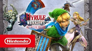 Hyrule Warriors: Definitive Edition - Launch trailer (Nintendo Switch)