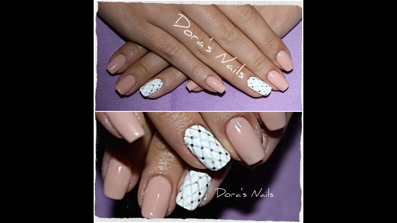 Quilted Nail Art Tutorial Youtube