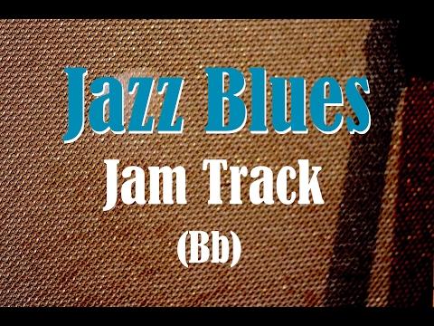 Bb Jazz Blues Backing Track