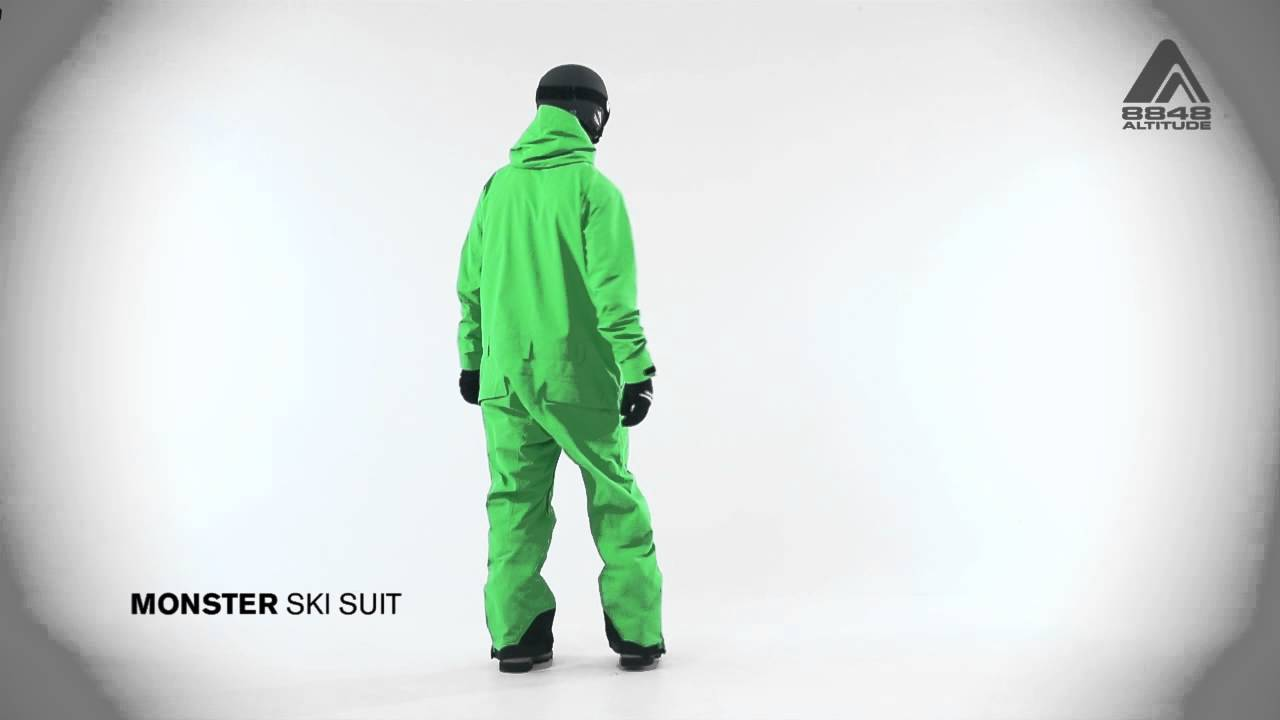 Мужской лыжный комбинезон MONSTER от 8848 Altitude - YouTube